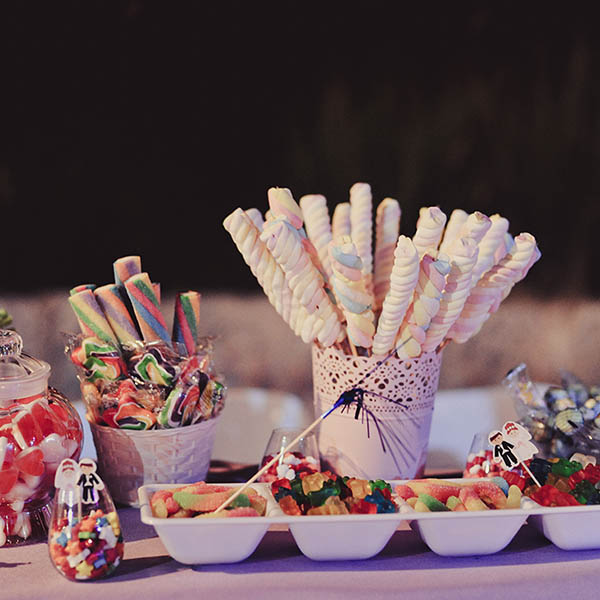 בר ממתקים לחתונה