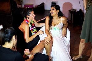אטרקציות לחתונה פוט מסאג