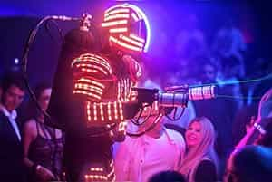 אטרקציות לבת מצווה רובוט לדים